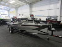 2015 Tracker 170 Pro With Jet Outboard and Only 8