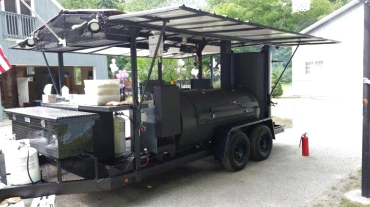 mobile bbq trailers for sale
