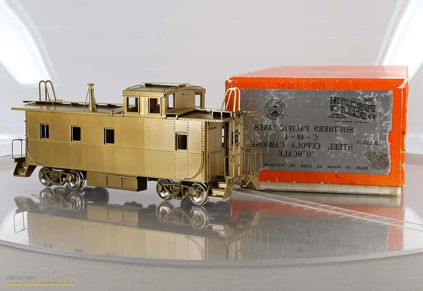 o scale brass caboose for sale