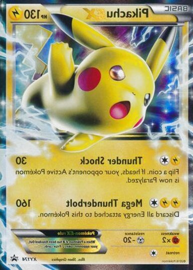 pokemon cards pikachu ex for sale