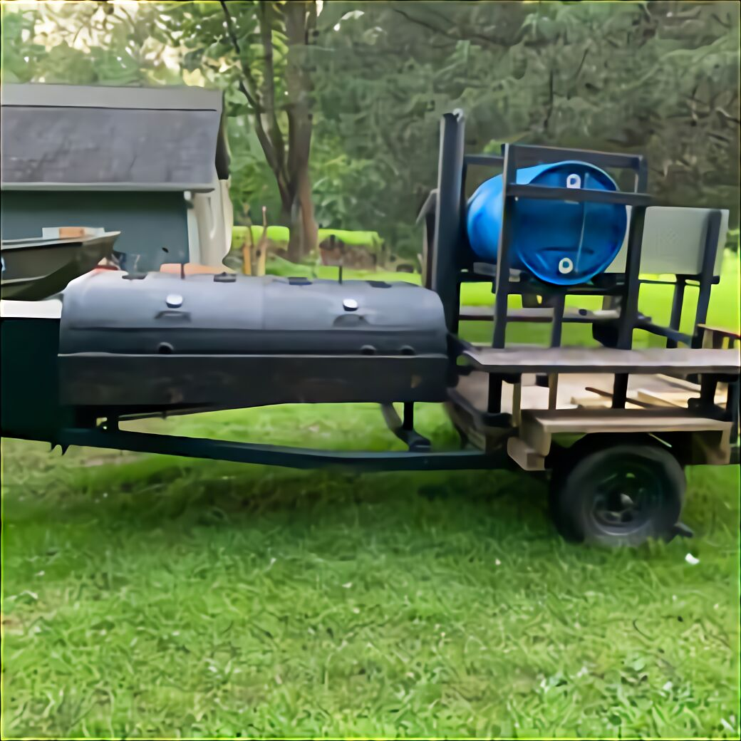 Bbq Smoker Concession Trailer for sale   Only 4 left at -60%
