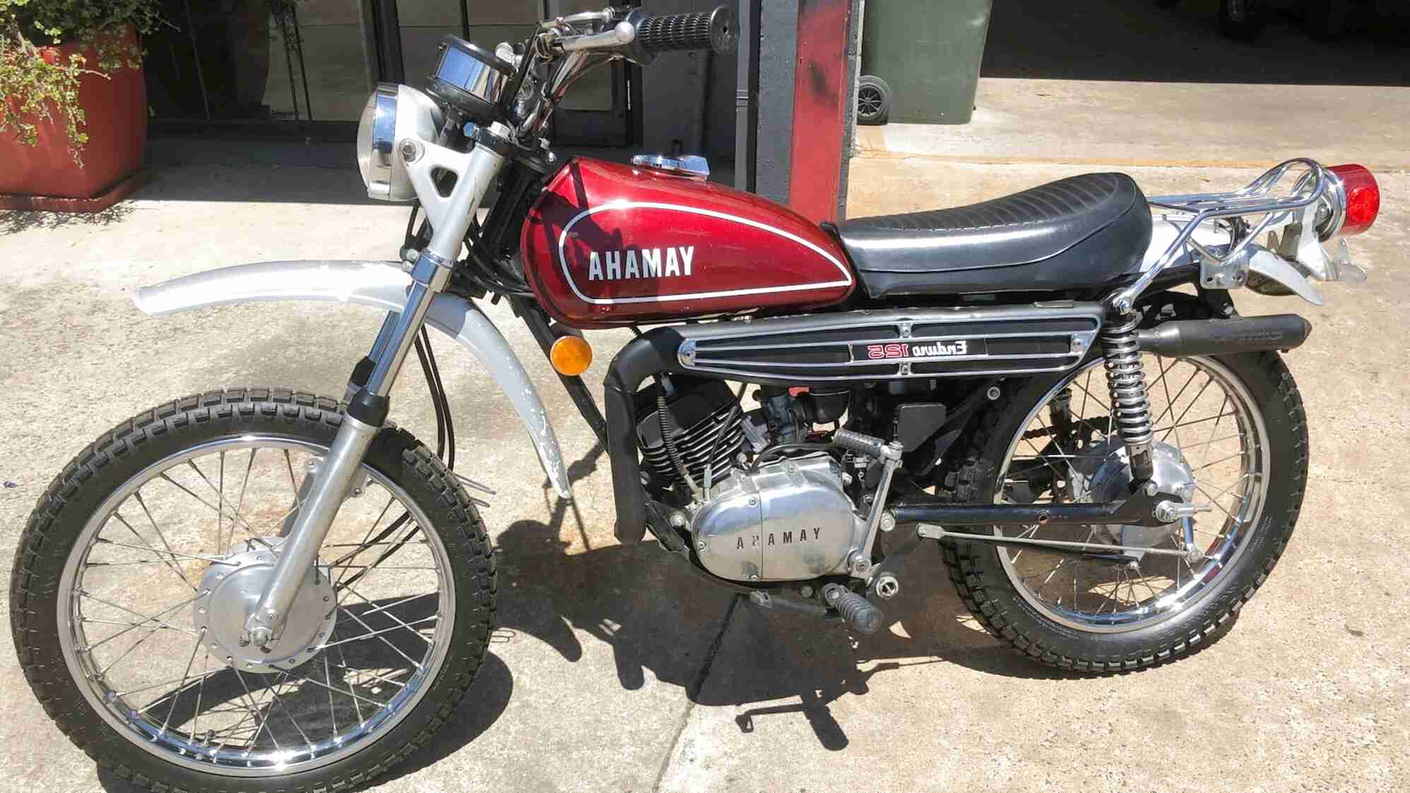 yamaha 125 enduro for sale