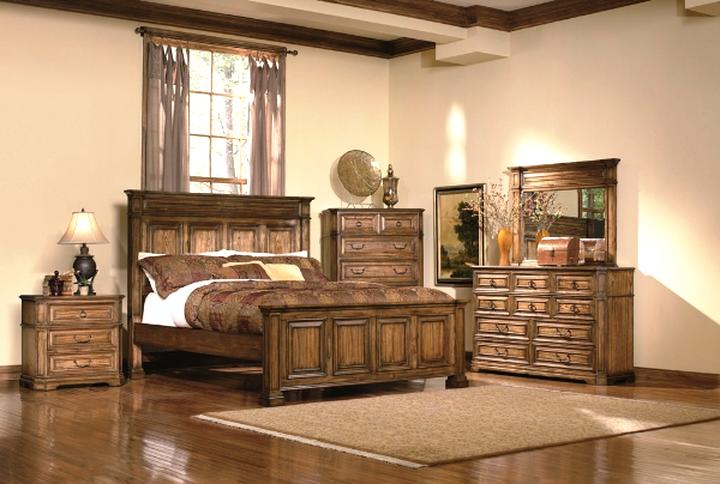 oak bedroom set for sale