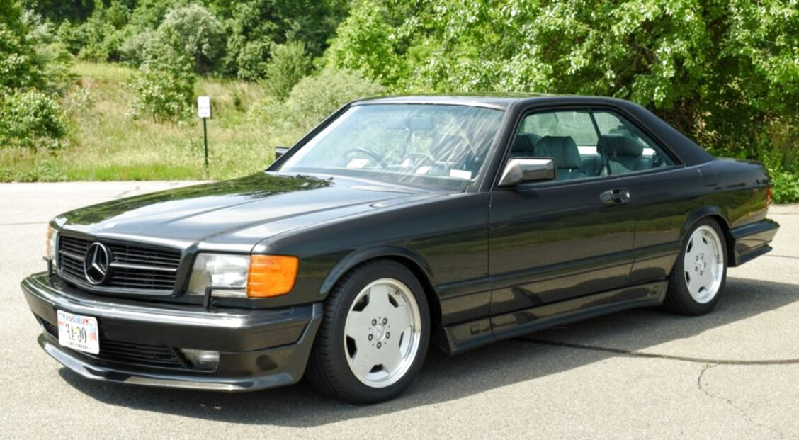 Mercedes 560 Sec For Sale Compared To Craigslist Only 3 Left At 65