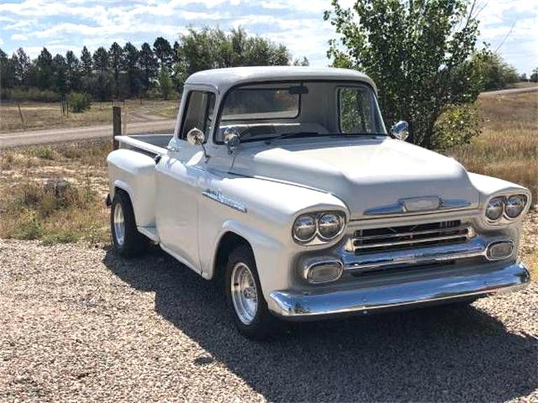 1958 Chevy Apache For Sale >> 1958 Chevy Pickup For Sale Only 4 Left At 70