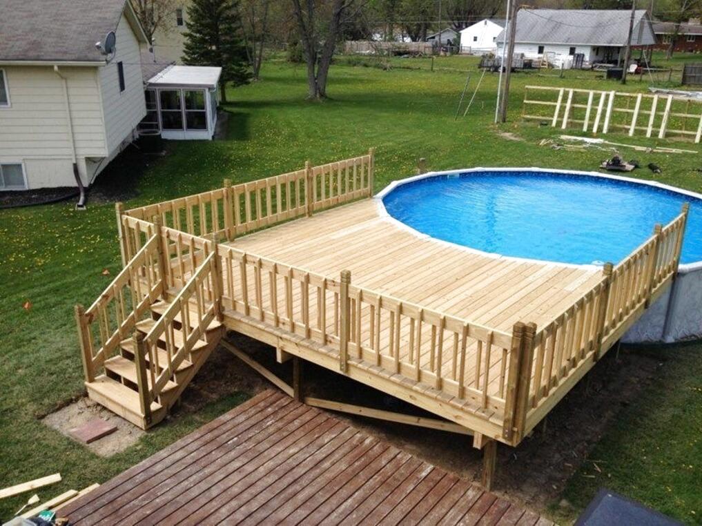 swimming pool decks for sale