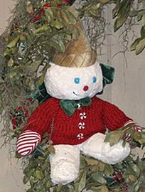 """Mr Bingle 2019 Ornament Storybook Tags New Orleans Colors Vest 12"""" Plush Nwt"""