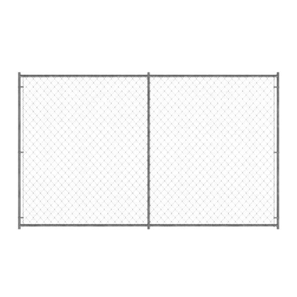 Chain Link Fence Sections for sale   Only 3 left at -65%