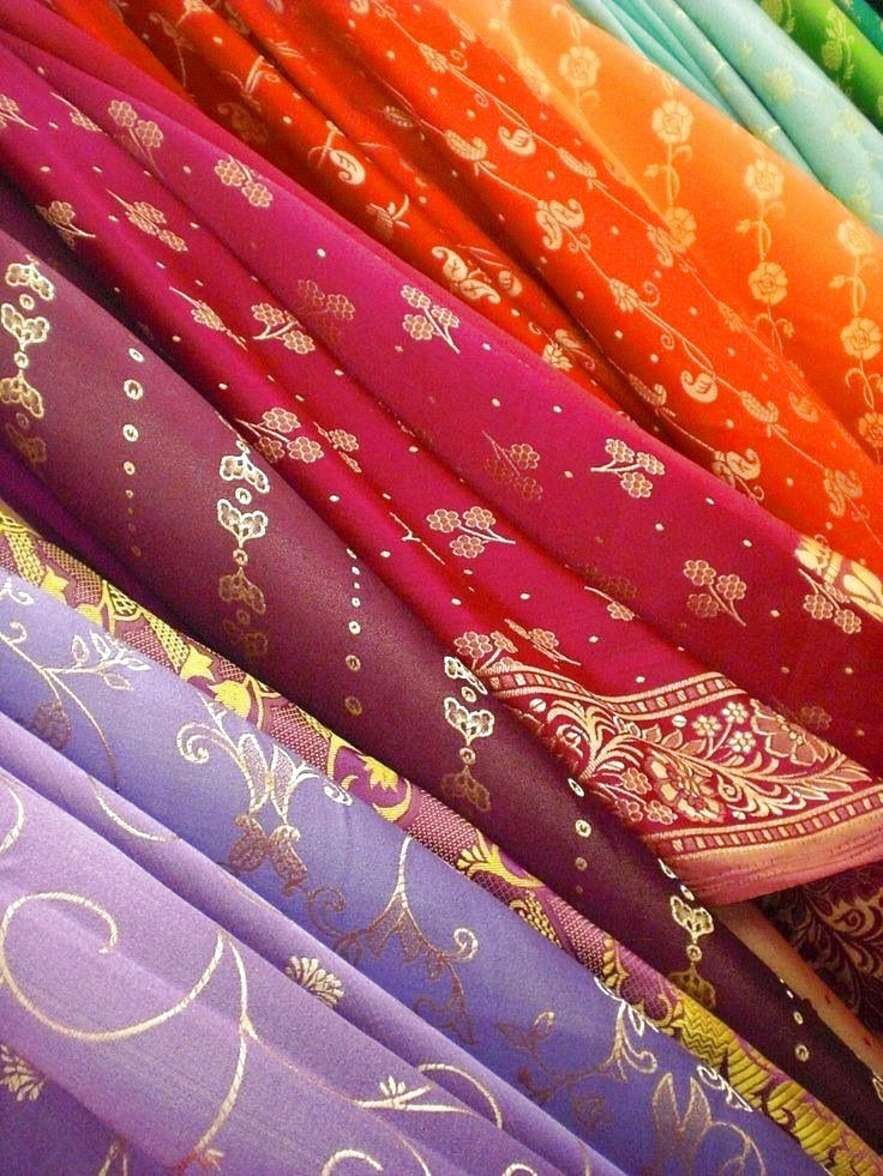 sari fabric for sale