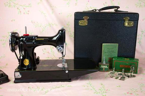 vintage singer featherweight sewing machine for sale