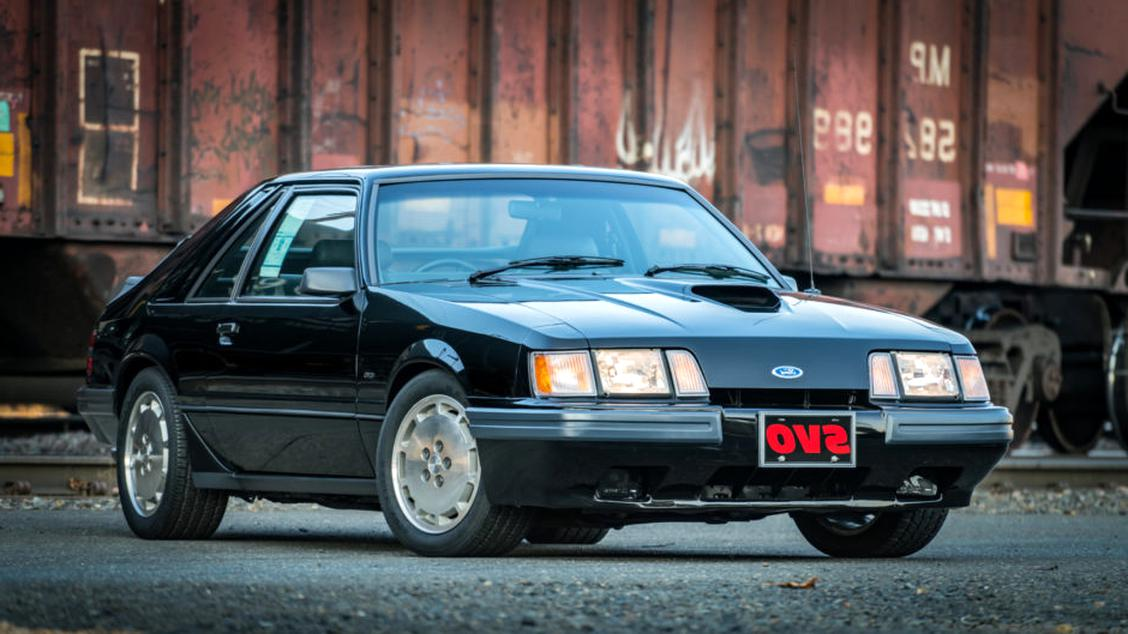 1986 mustang svo for sale