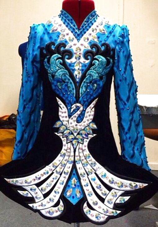 Commissioned Irish Dance Dresses From age 11 upwards.