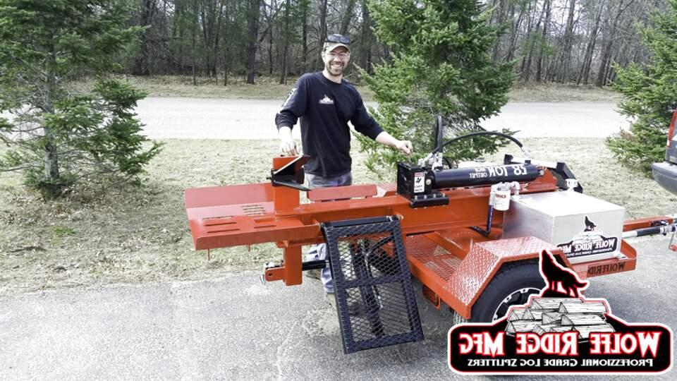 commercial log splitter for sale