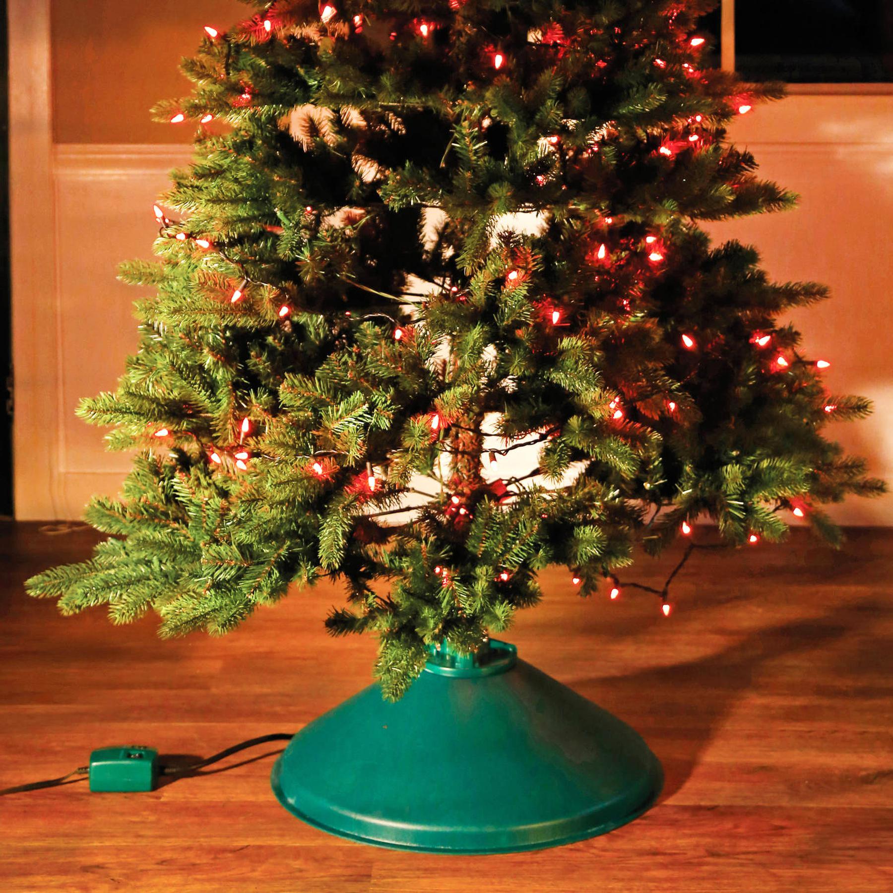 Rotating Christmas Tree Stand.Rotating Christmas Tree Stand