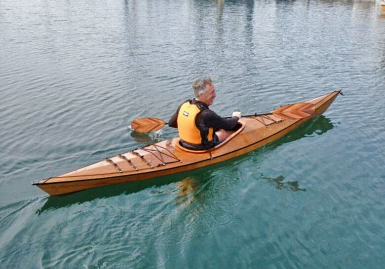 wooden kayak for sale