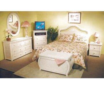 wicker bedroom furniture for sale