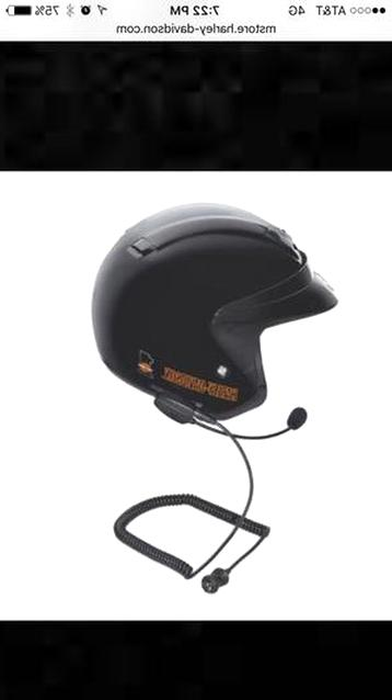 harley helmet headset for sale