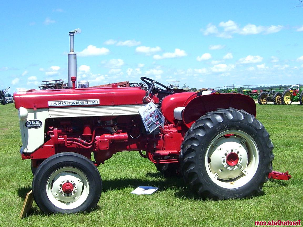 international 240 tractor for sale
