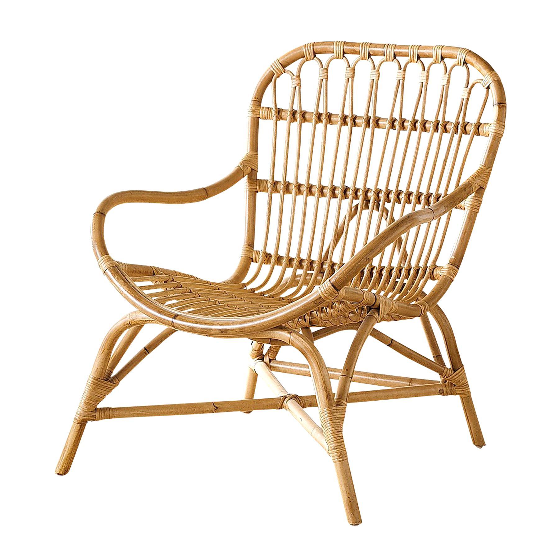 rattan armchair for sale