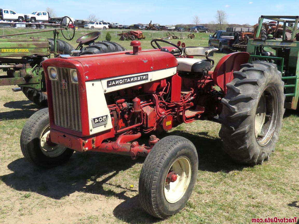 international 504 tractor for sale