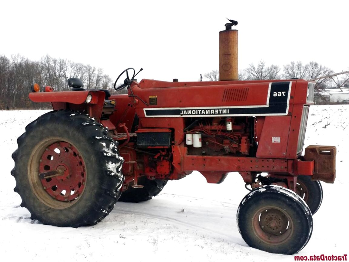 766 international tractor for sale