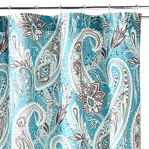 paisley shower curtain for sale