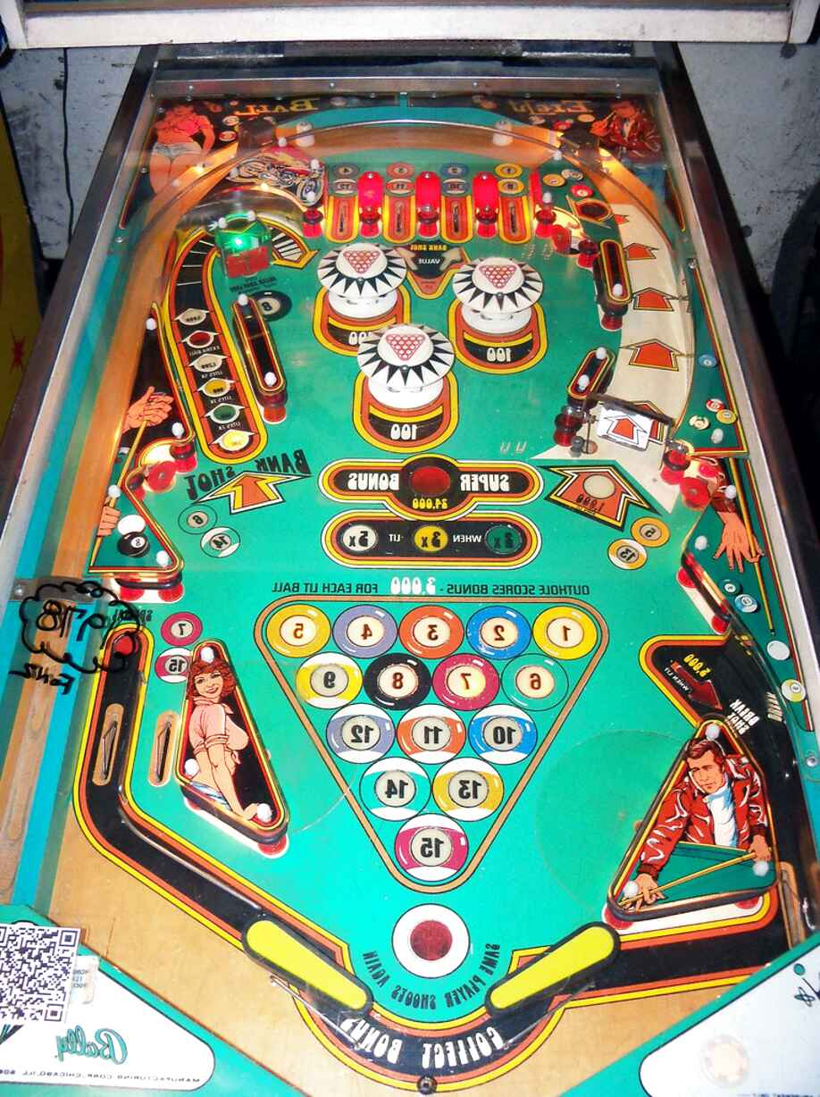 eight ball pinball machine for sale