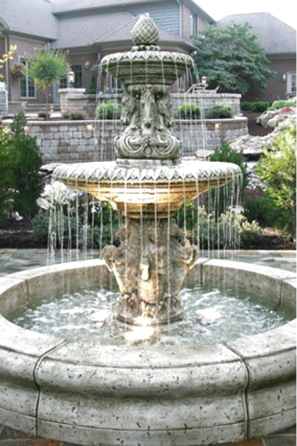 large outdoor fountains for sale