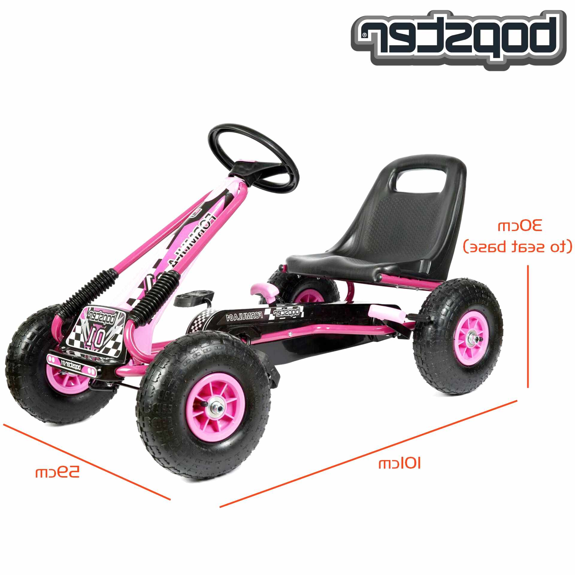 pink go cart for sale