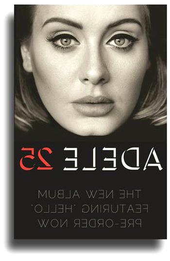 """Adele /""""Black Light/"""" Poster 2"""