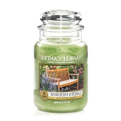 garden candle yankee for sale