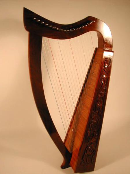 celtic harp for sale