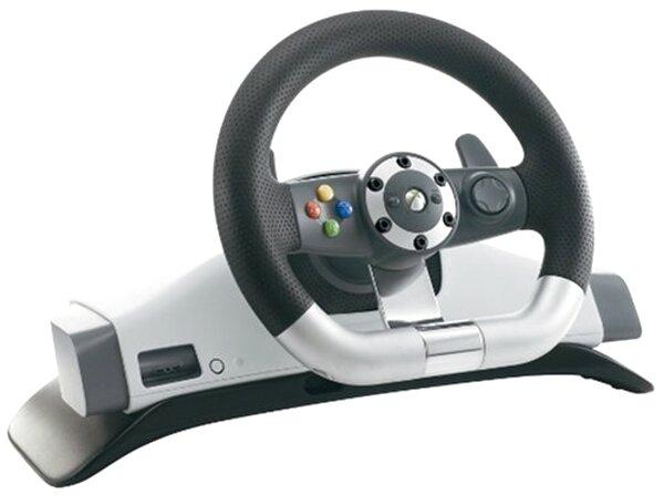 xbox 360 wireless racing wheel for sale