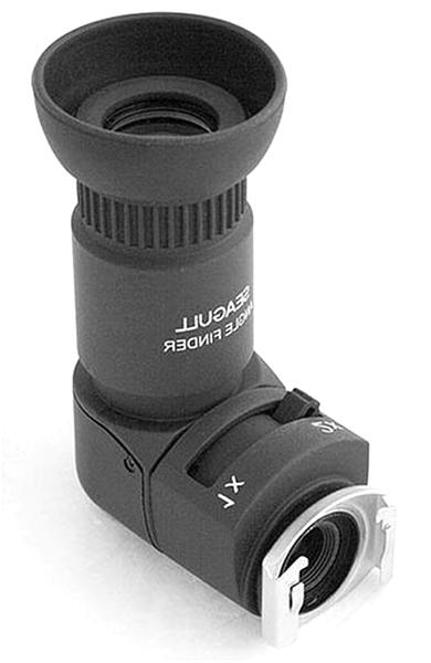 Pentax Minolta Seagull 1x-2x Right Angle Finder for Canon Nikon Olympus and Leica SLR Cameras Fuji