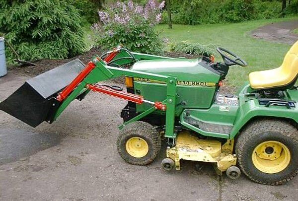 lawn mower loader for sale