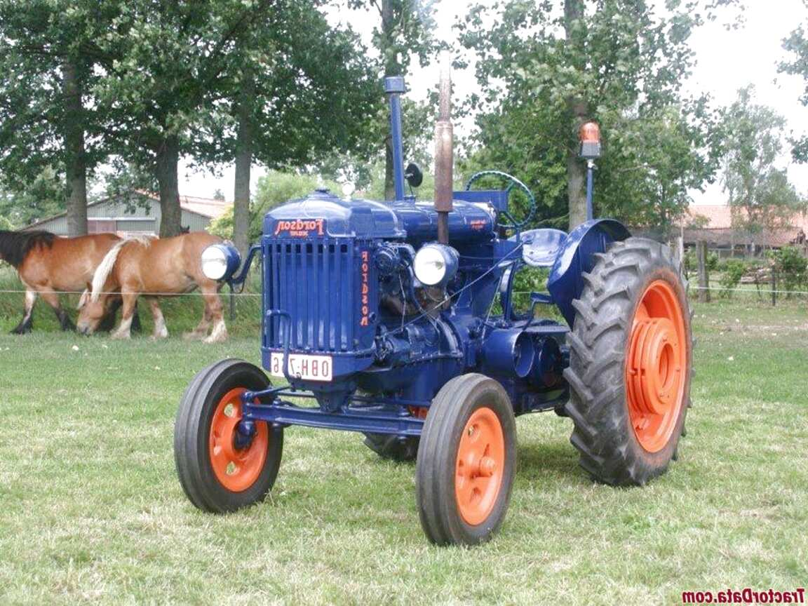 fordson e27n tractor for sale