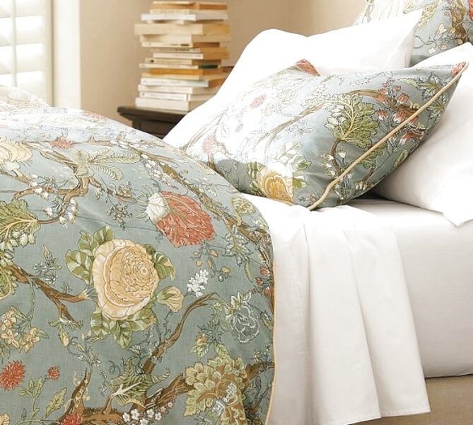 Pottery Barn Palampore Duvet For Sale Only 2 Left At 70