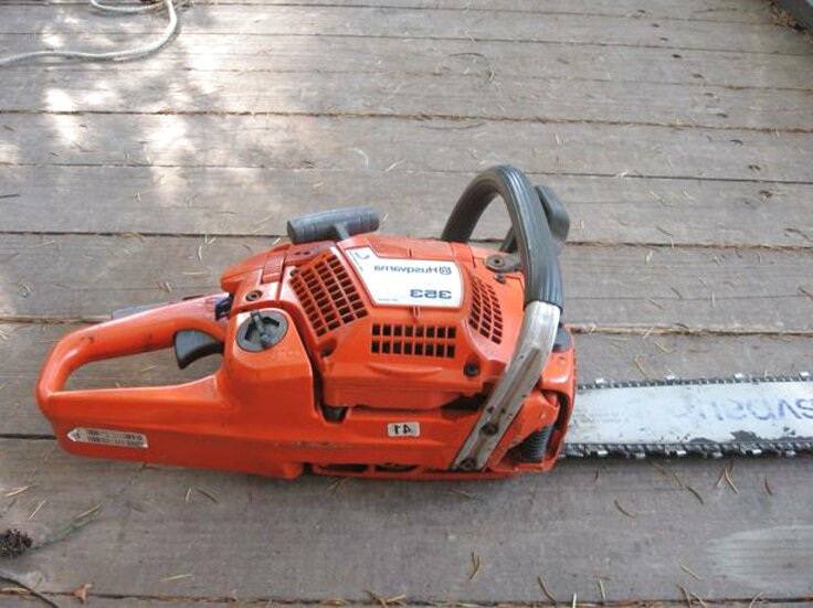 husqvarna 353 chainsaw for sale