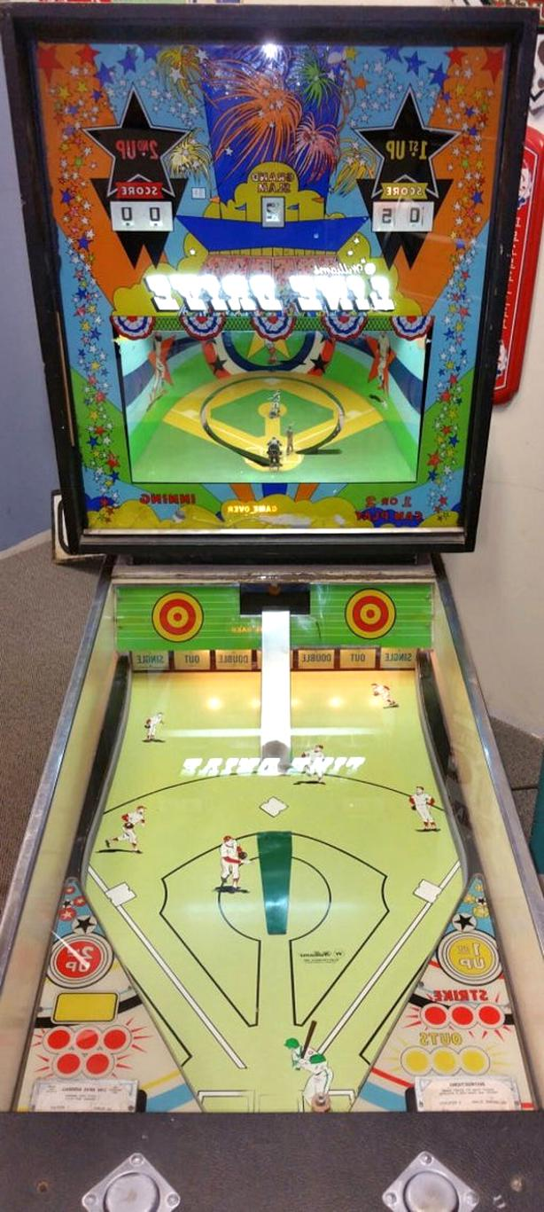 baseball pinball machine for sale