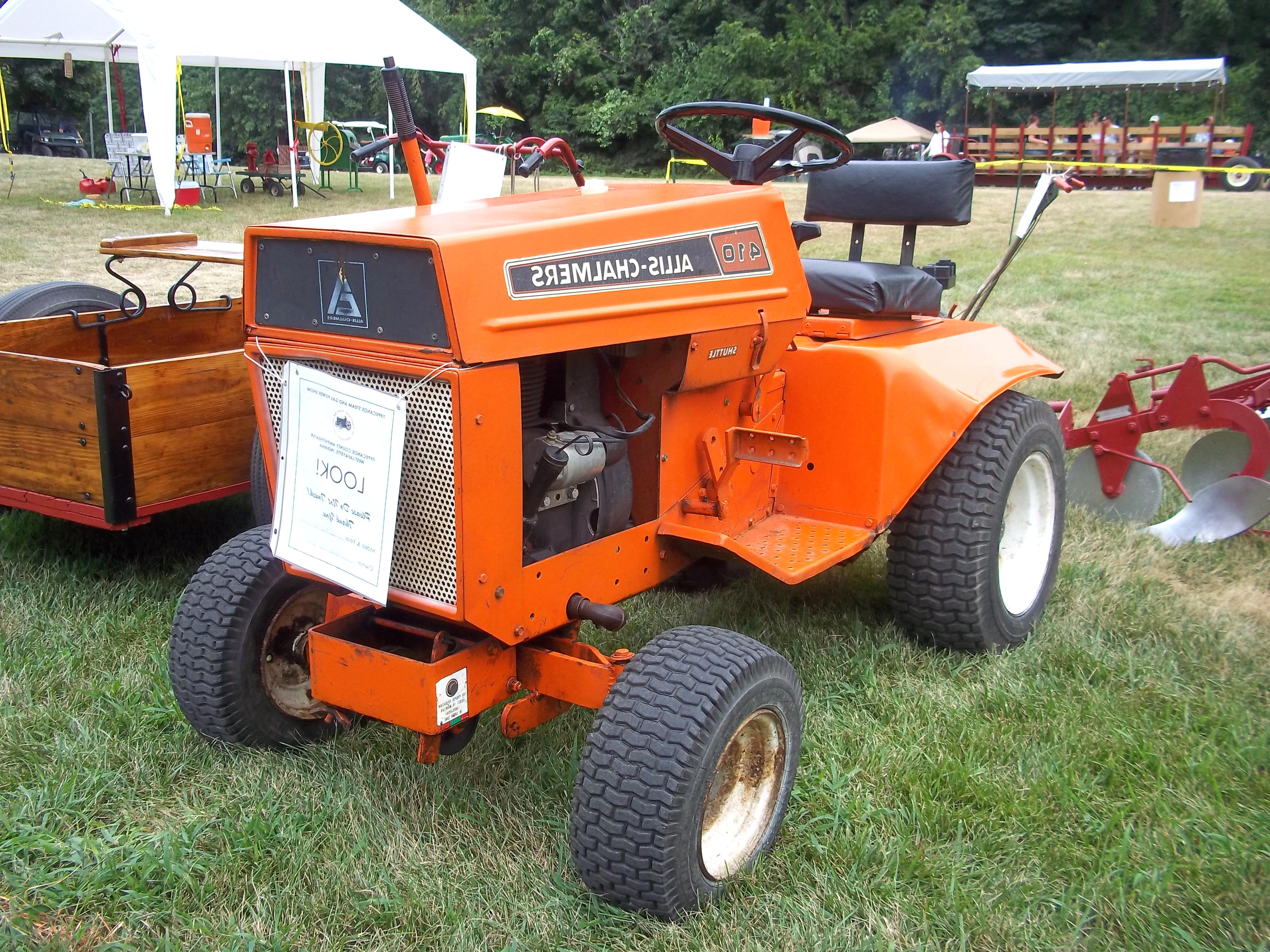Allis Chalmers Lawn Tractor For Sale Only 4 Left At 70