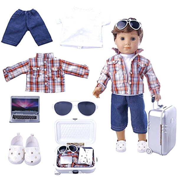 18 boy doll clothes for sale