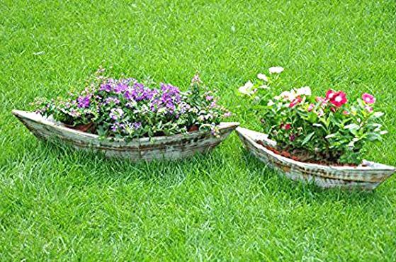 boat planter for sale
