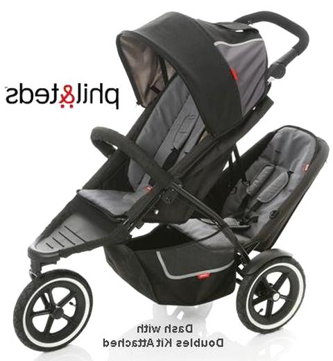 phil teds double stroller for sale