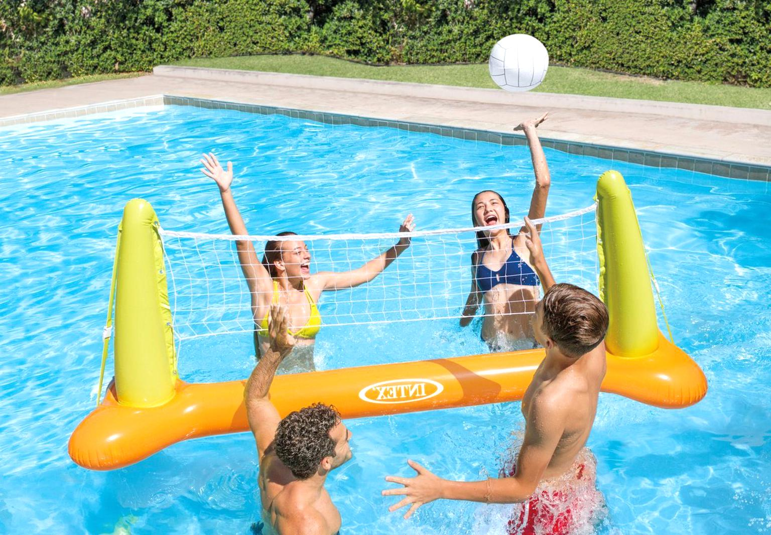 intex pool volleyball set for sale