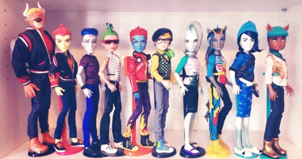 monster high male dolls for sale