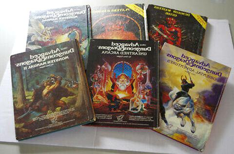 dungeons dragons book lot for sale