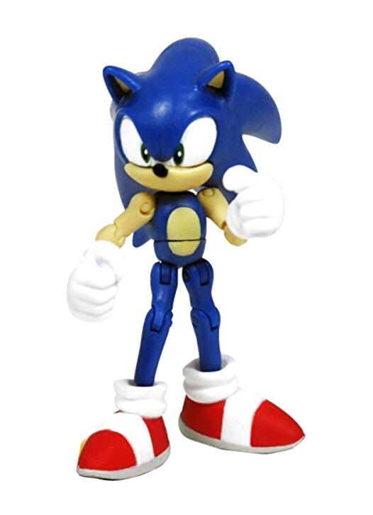Sonic The Hedgehog Mini Figure Knuckles MK3 Red Sonic Green Hill Zone UK Seller