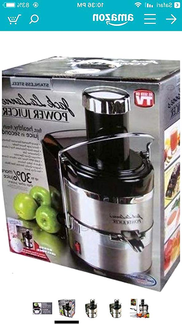 jack lalanne power juicer for sale