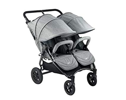 double stroller grey for sale