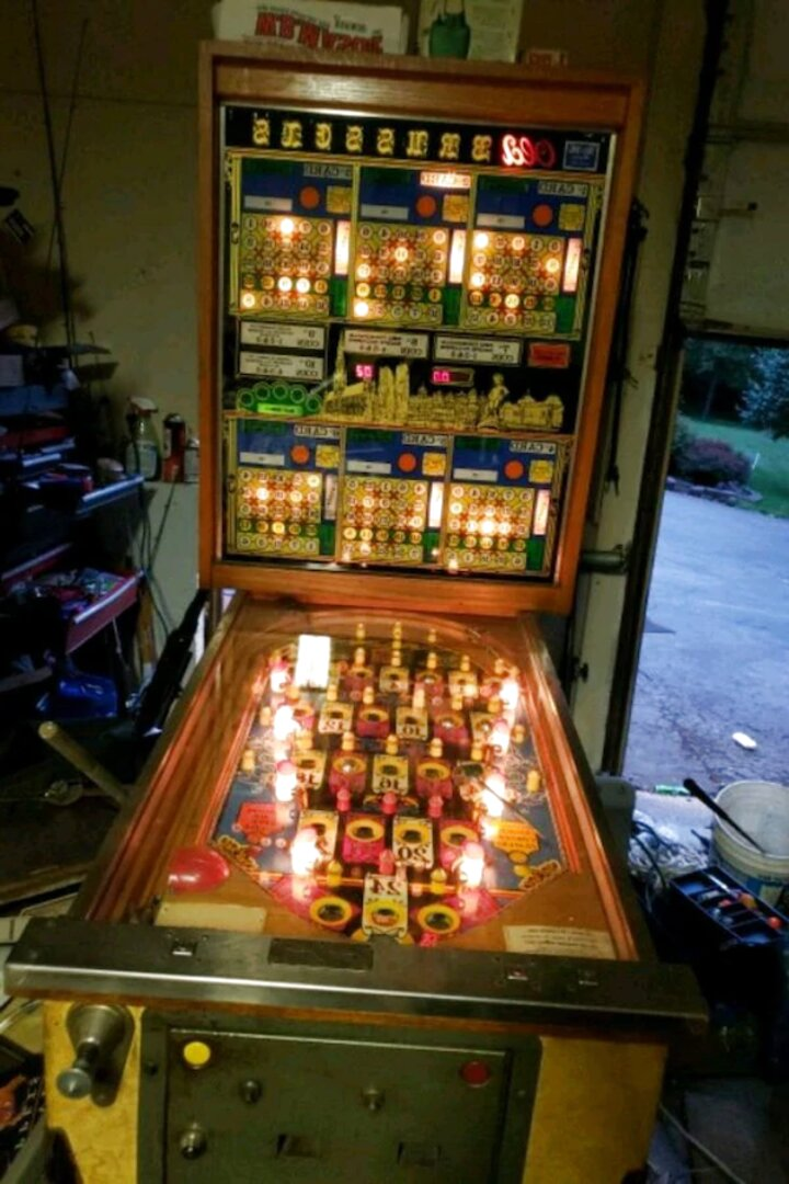 bingo pinball machine for sale